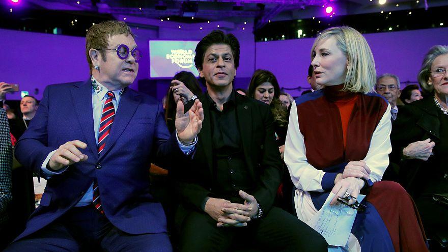 Davos ehrt Cate Blanchett, Elton John und Shah Rukh Khan