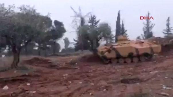 TSK'nın Afrin harekatı sürüyor