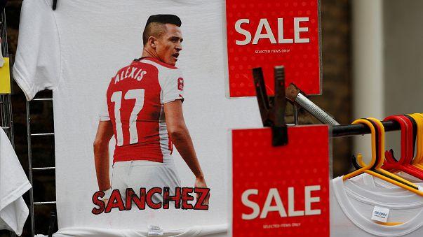 Alexis Sánchez no Manchester United de Mourinho