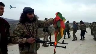 Intense fighting erupts on Turkish Syria border