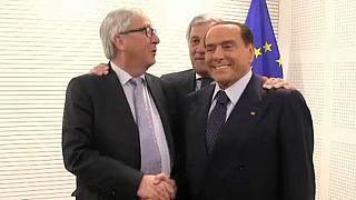 Berlusconi AB ile hasret giderdi