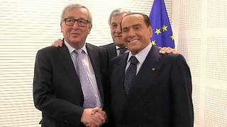 Berlusconi returns to Brussels after seven years
