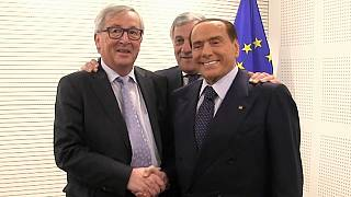 Berlusconi regresa a Bruselas