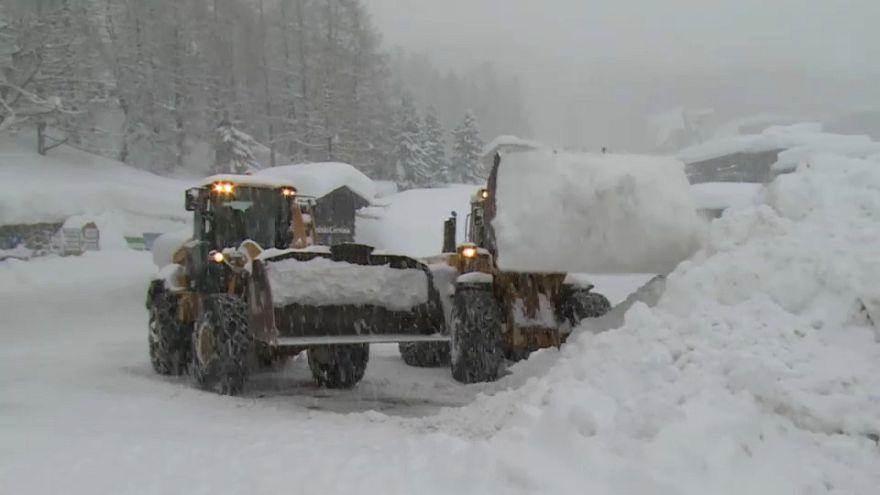 Un temporal invernal azota Europa