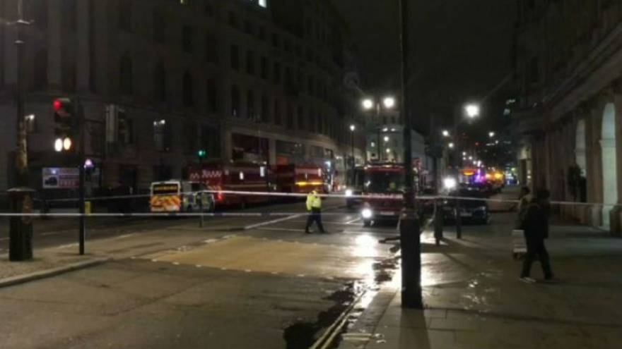 London's Charing Cross Station closes due to gas leak