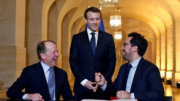 """""""Choose France"""" pour 3,5 milliards d'euros"""