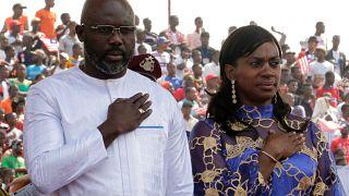 Liberia: George Weah presta giuramento allo stadio