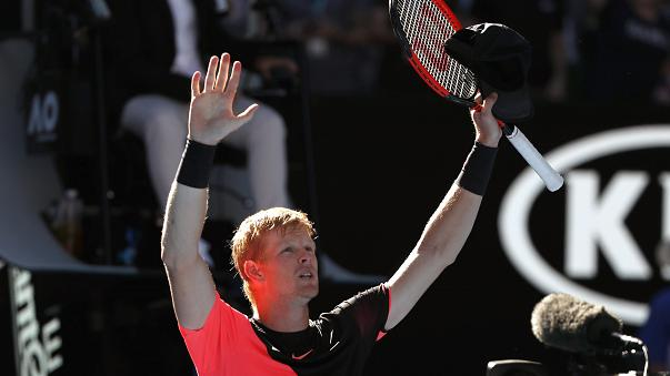 Tennis: UK's Kyle Edmund stuns Grigor Dimitrov to reach Australian Open semi-finals