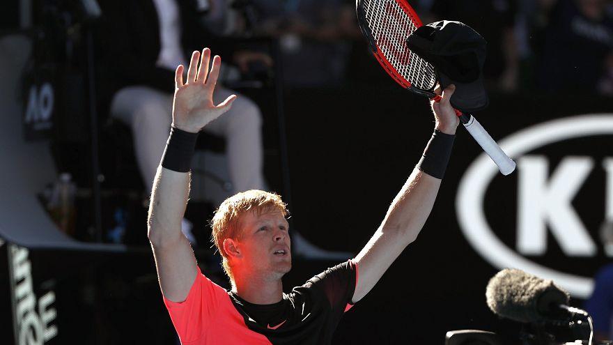 Tennis: UK's Kyle Edmund stuns Grigor Dimitrov to reach Australian Open semi-finals
