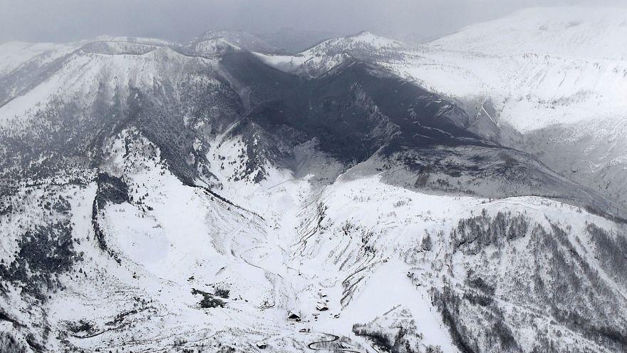 Japon : un mort dans une avalanche provoquée par l'éruption d'un volcan
