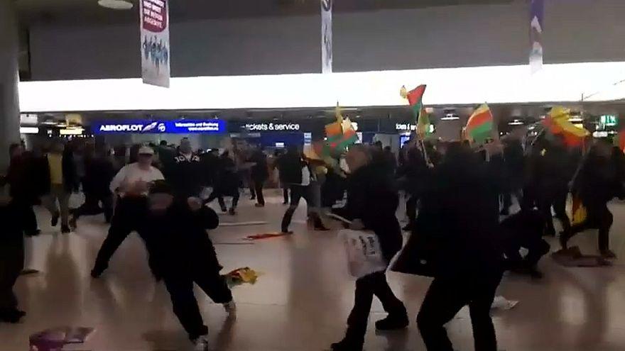 Hannover: scontri in aeroporto contro operazione militare turca in Siria