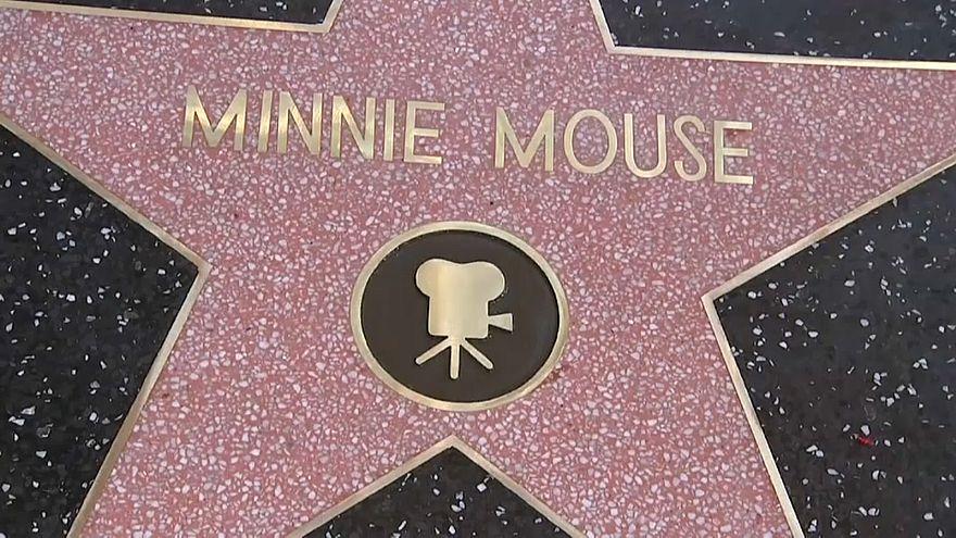 Мышка Минни получила свою звезду