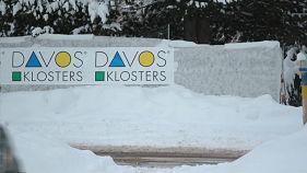 Давос засыпало снегом, но форум начинает работу