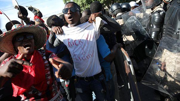 "Haïti : ""Nous exigeons de Trump qu'il s'excuse"""