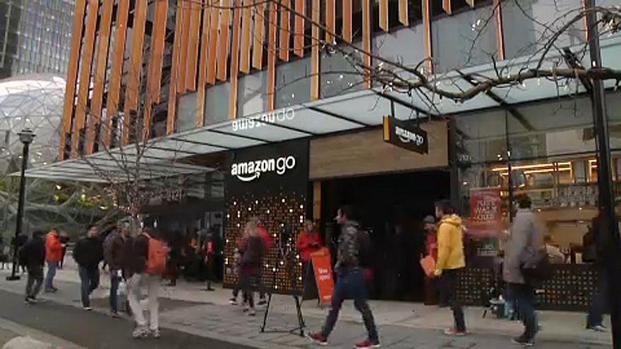 Amazon Go: pénztár nélküli okosbolt