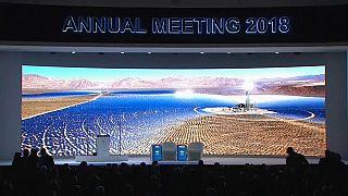 Il panel introduttivo del World Economic Forum di Davos