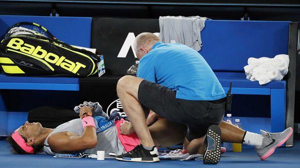 Надаль покидает Australian Open из-за травмы
