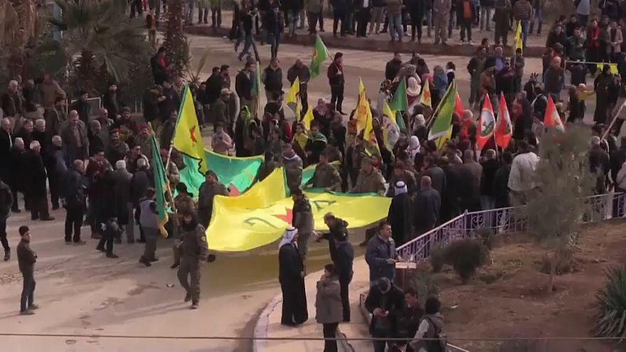 Курды обвиняют Россию