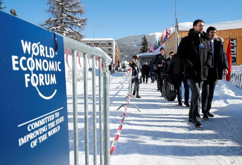 Delegati in arrivo al WEF