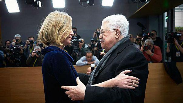هذا ماقالته فيديريكا موغريني للرئيس محمود عباس