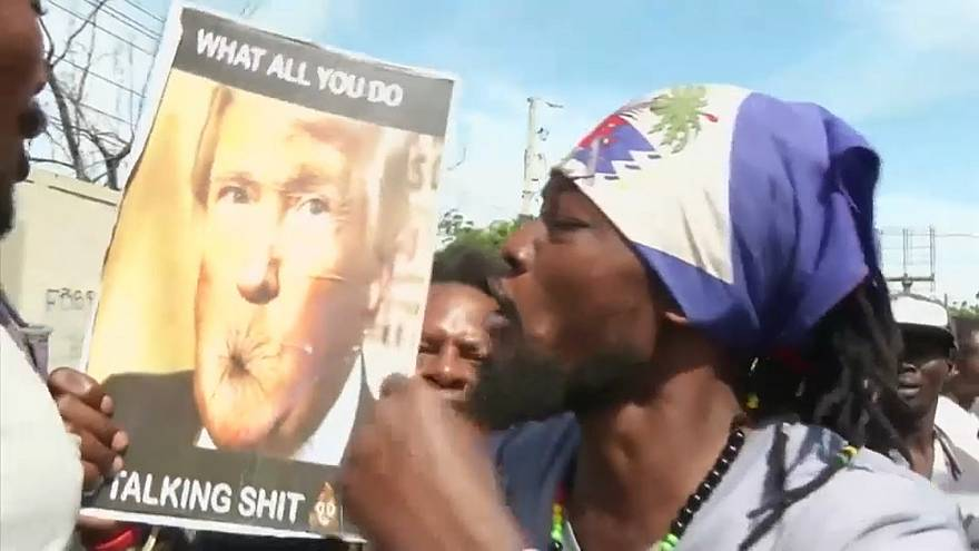 """""""Shithole""""-Zitat: Haitianer verlangen Entschuldigung von Donald Trump"""