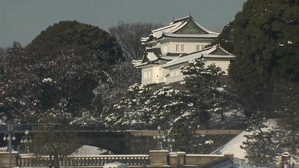 Tokio vive su mayor nevada en cuatro años