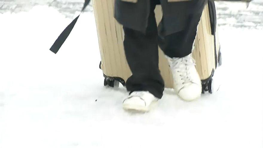 Tokio im Schnee