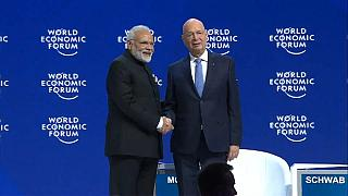 رئيس وزراء الهند ناريندرا مودي في المنتدى الاقتصادي العالمي