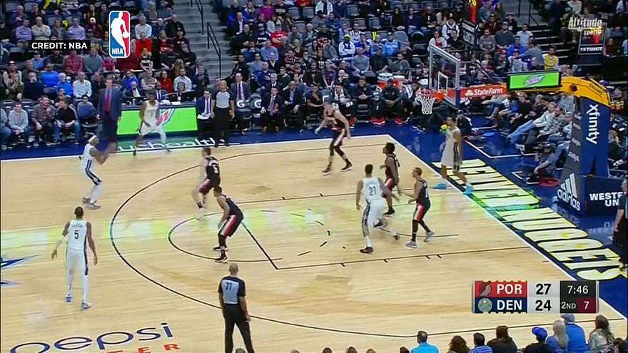 NBA: Denver batte Portland grazie a Murray