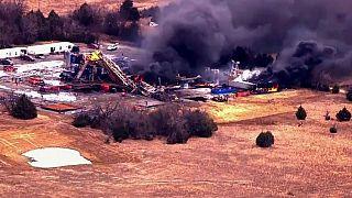Fünf Vermisste nach Gasexplosion auf Bohrstelle in Oklahoma