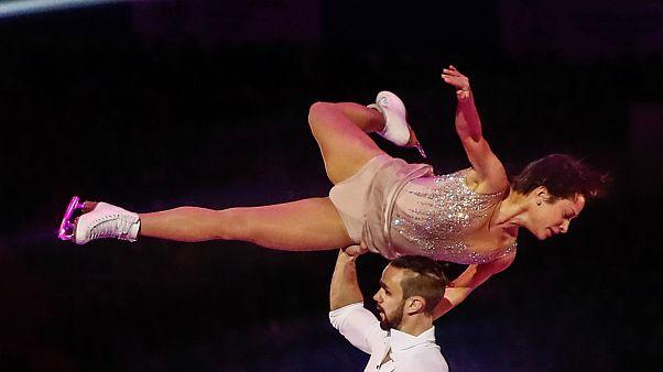 Ksenia Stolbova foi medalha de ouro por equipas em Sochi2014