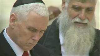 Pence: A palesztinoktól függ a közel-keleti béketerv
