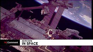 La prima passeggiata nello spazio del 2018