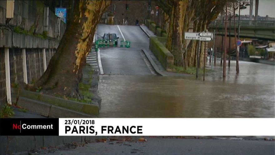 Alluvioni, frane esondazioni e neve. Il maltempo in Europa e nel mondo.