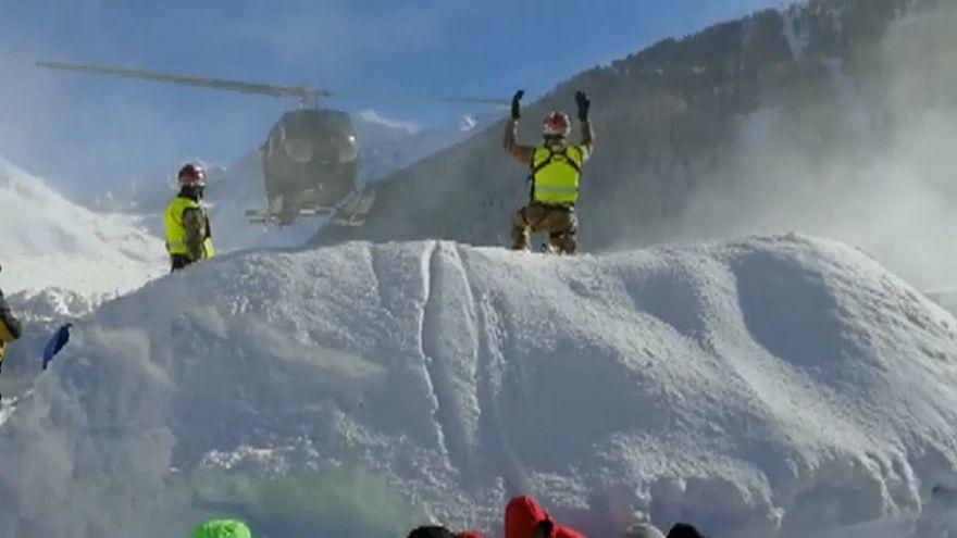 Европа: снег в горах, дождь на равнине
