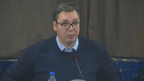 """Vucic: """"Serbia fuori dalla Ue senza accordo sui confini col Kosovo"""""""
