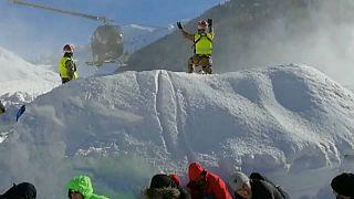 Los Alpes, sacudidos por nuevas avalanchas
