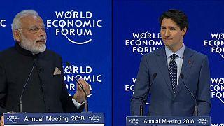 Davos'ta gündem serbest ticaret