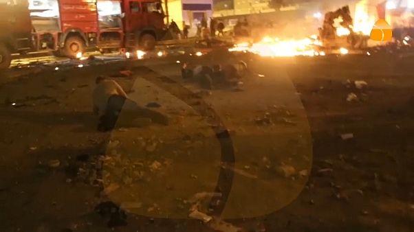 Mindestens 33 Tote bei Doppelanschlag in Libyen