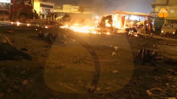 Mais de 30 mortos em dupla explosão em Bengasi