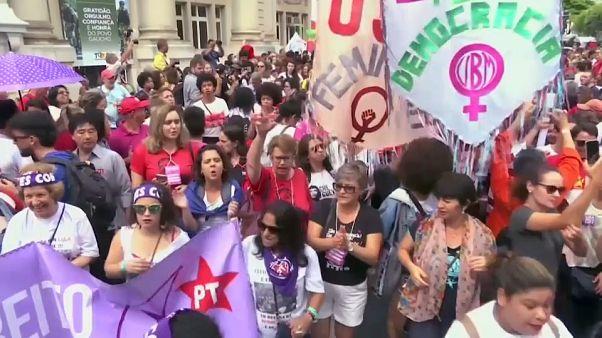 Masivo apoyo a Lula antes de que la Justicia decida su futuro