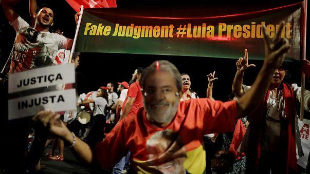 À Porto Alegre, une manifestation en soutien à l'ex-président Lula
