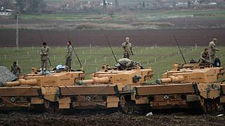 استفاده ترکیه از تانکهای آلمانی در سوریه خشم مخالفان مرکل را برانگیخت