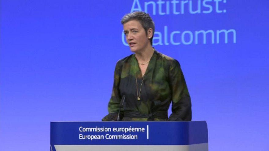 Gigabírságot kapott a Qualcomm az EU-tól