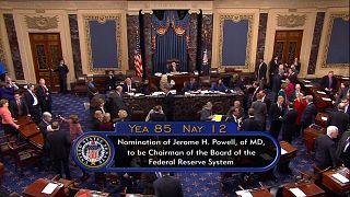 Yeni FED Başkanı Powell'a Senato'dan onay
