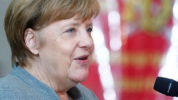 A Davos, Angela Merkel contre le protectionnisme