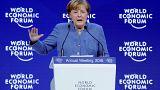 I discorsi di Gentiloni, Merkel e Macron al WEF di Davos