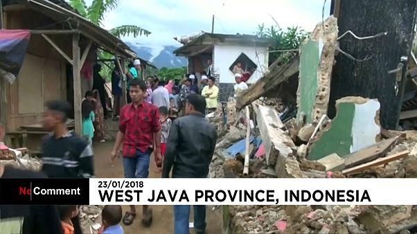 Землетрясение у берегов Индонезии