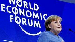 Merkel in Davos