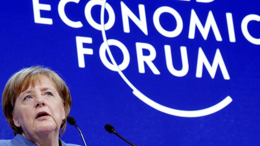 Discurso completo: Merkel aboga por el multilateralismo en Davos